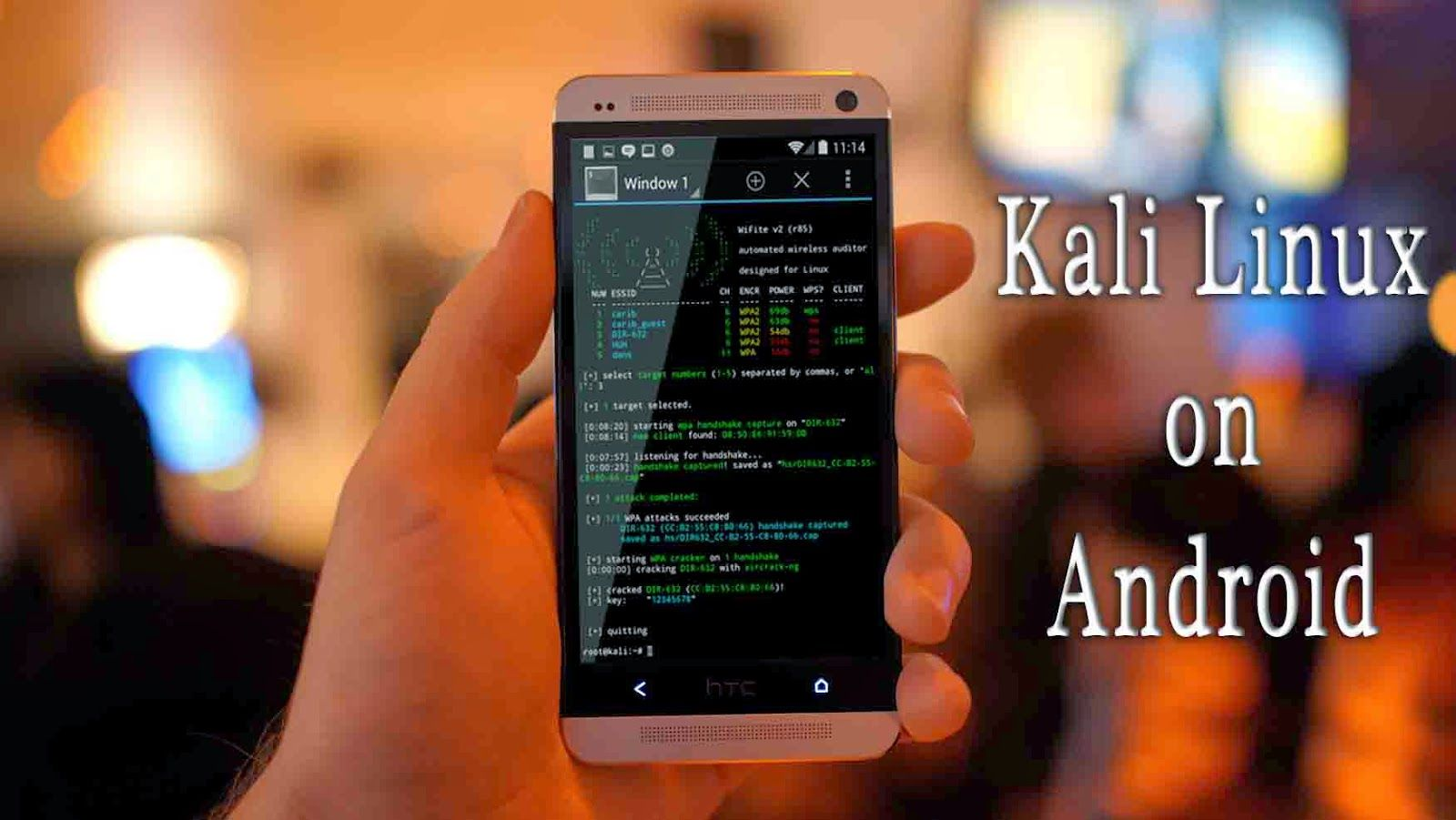 Install And Run Kali Linux On Android Smartphone In 2016
