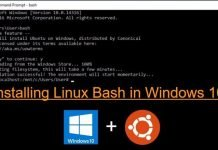 How To Install And Run Linux Bash Shell On Windows 10