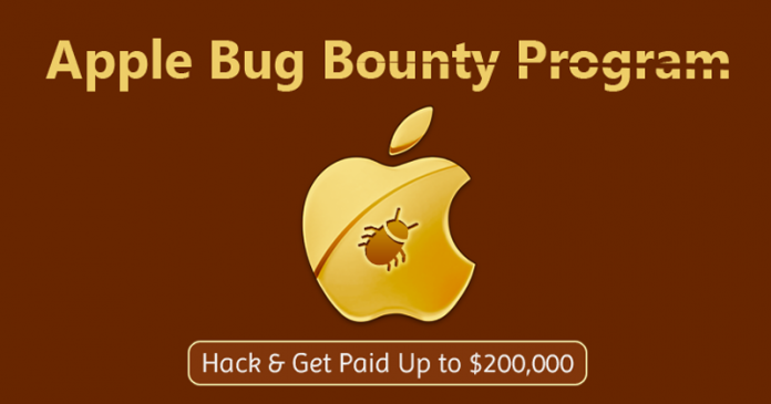 Apple sets $200,000 cash rewards for security flaws