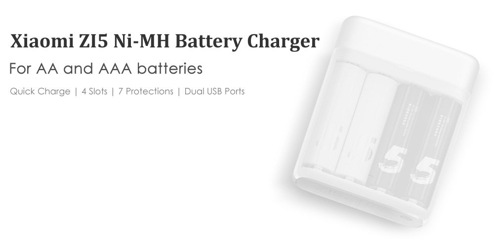 Full Review And Specifications Of Xiaomi ZI5 USB Battery Charger At Discount Price