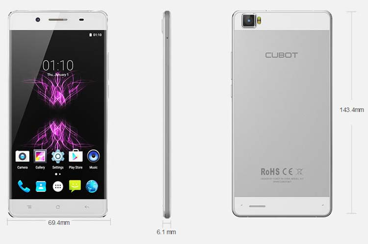Full Review and Specificaions Of Cubot Manito 4G Smartphone At Discount Price