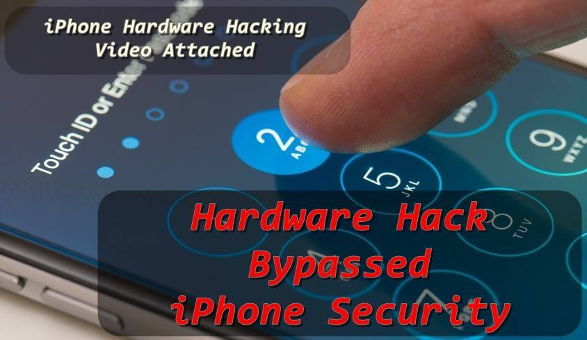 Hardware Hack Bypassed iPhone Password Security