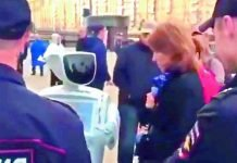 Russian Police Arrested A Robot For Recording Voters
