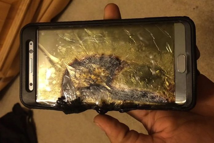 Samsung Galaxy Note 7 Explosion Caused $1 Billion To Company
