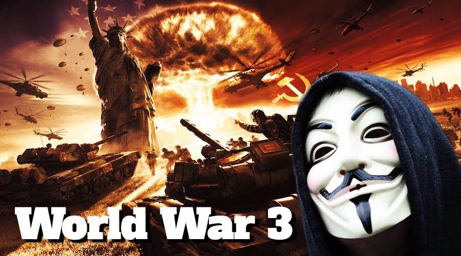 """Anonymous Warning Message To The World: """"World War III Is Near"""""""