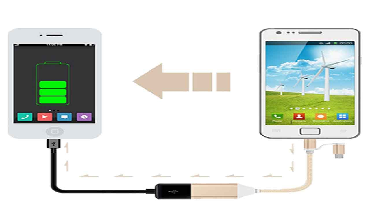 Charge Your Other Phones - Uses Of OTG Cable