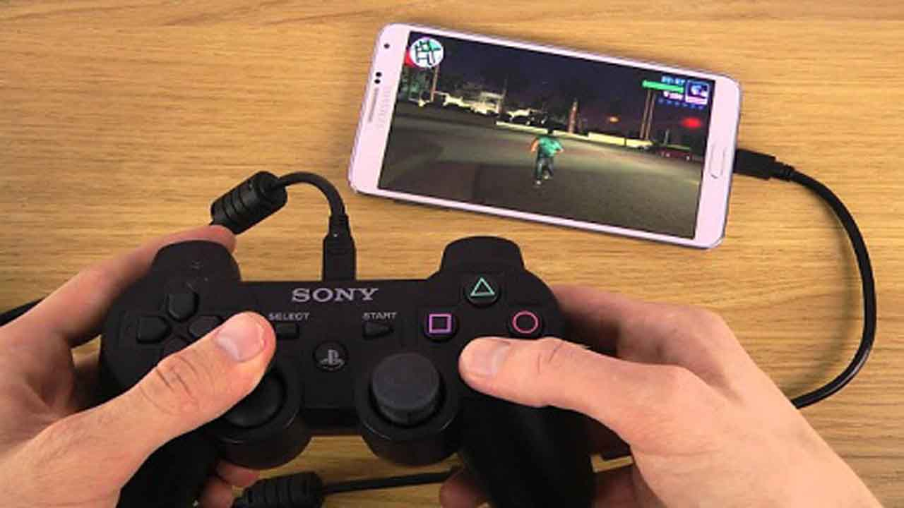 Connect a Game Controller - Uses Of OTG Cable
