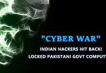 Cyber War Begins! Pakistani Websites Hacked By Indian Hackers