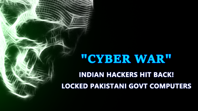 Cyber War Begins! Pakistani Websites Hacked By Indian Hackers