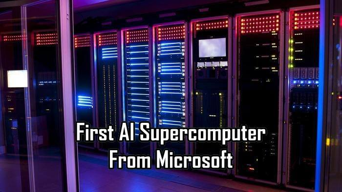 Know How Azure Is The First AI Supercomputer From Microsoft