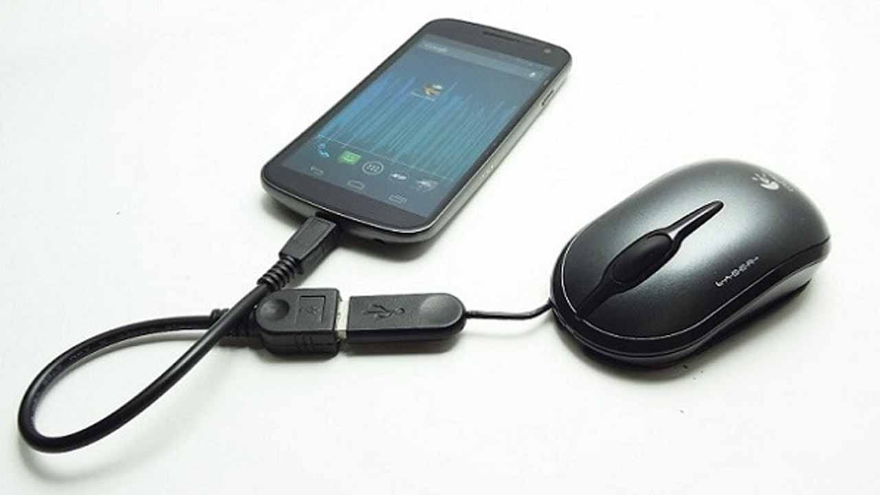 USB Mouse - Uses Of OTG Cable