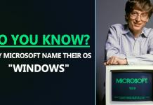 Do You Know Why Microsoft Name Their OS 'Windows'?