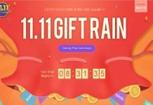 GearBest Gift Raining With Coupons Unlimited