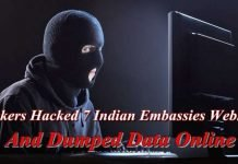 Hackers Hacked 7 Indian Embassies Websites And Dumped Data Online