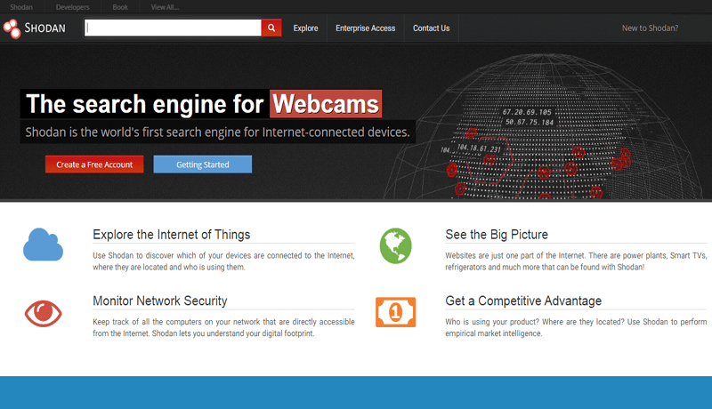 The Most Scariest Search Engine On Internet For Hackers Is 'Shodan'