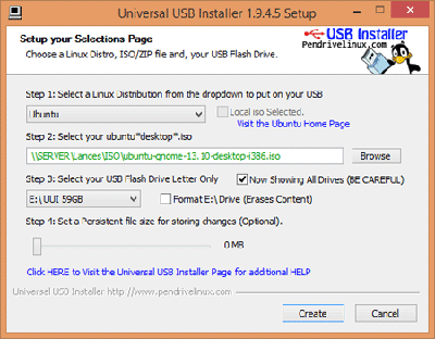 Universal USB Installer - USB Bootable Pendrive Software