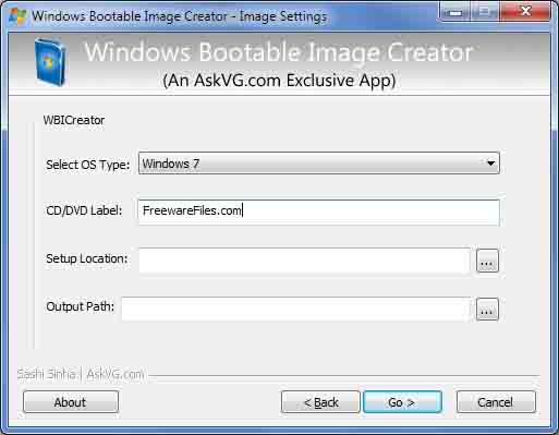 Windows Bootable Image Creator - USB Bootable Pendrive Software