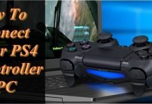 How to Connect Your PS4 Controller To Windows PC