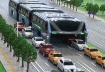 China's Ultramodern 'Straddling Bus' Has Run Out Of Money