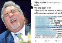 Millionaire Mallya Twitter Account Hack By Legion