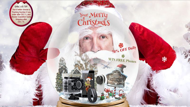 This Christmas Grand Sale On GearBest, Do Not Miss This Time