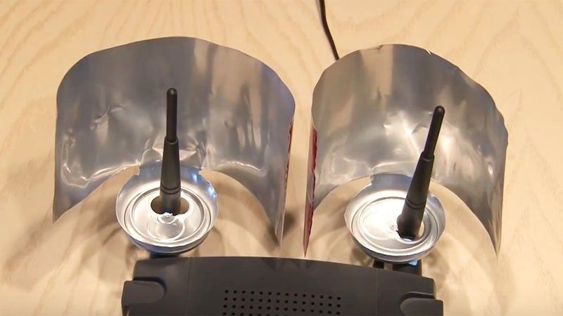 You Can Boost Your Wi-Fi Signal Using Any Tin Can