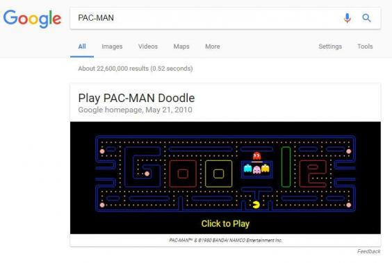 10 Hidden Google Games Which You Can Play Right Now 2017