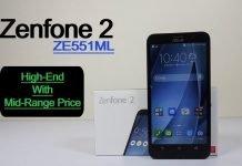 ASUS ZenFone 2 ZE551ML The 4GB Of RAM High-End Beast
