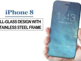 Apple's iPhone 8 Will Be All Glass And Having iPhone 4 Steel Frame