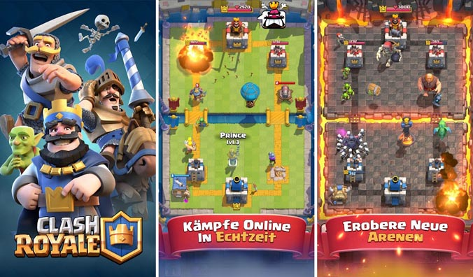 Clash Royale - 2017 Top 10 Best Addictive Games For Android Users