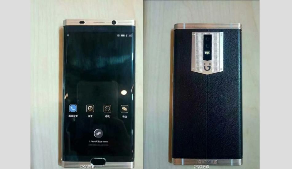 Gionee M2017 Image Back Side And Front Side
