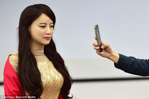 Jia Jia Robot With Conversation