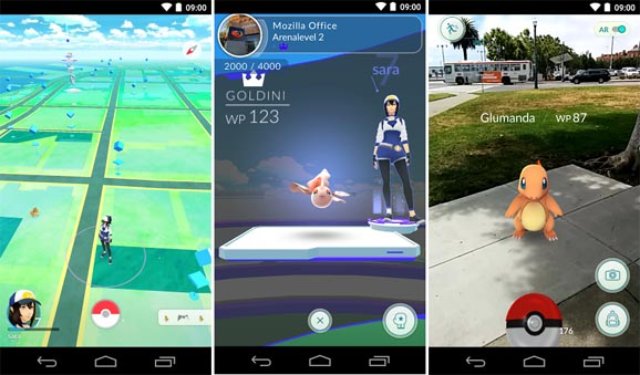 Pokémon GO - 2017 Top 10 Best Addictive Games For Android Users