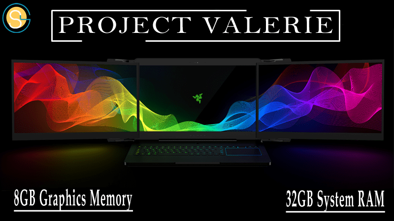 Razer's Project Valerie The Laptop With Triple Screen
