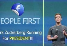 Shocking Rumors, Facebook CEO Mark Zuckerberg Running For President