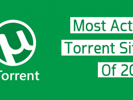 Top 5 Most Active Torrent Sites Of 2017