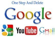 Fast Steps To Delete YouTube, Google+, Gmail From Google Account