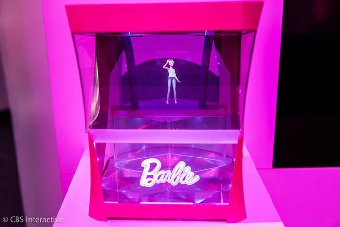 How Barbie Girl Hologram Works