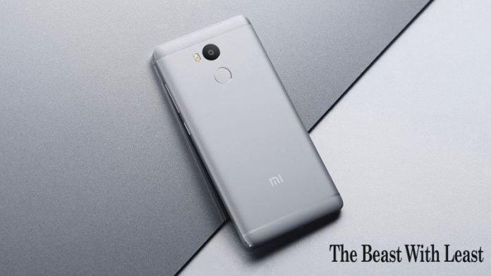 Xiaomi Redmi 4 The 4G Fingerprint Scanner