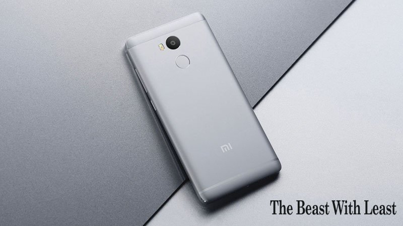 Xiaomi Redmi 4 The 4G Fingerprint Scanner