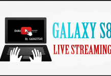 Samsung Galaxy S8 Live Streaming Launch