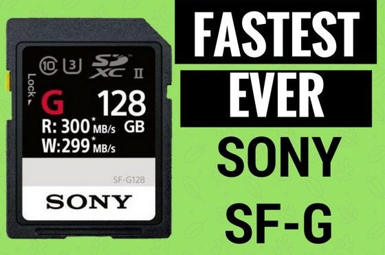 Sony Will Launch The World's Fastest SD Card Next Month