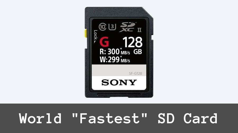 World's Fastest SD Card From Sony Going To Launch This Month
