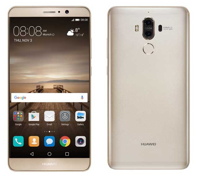 HUAWEI MATE 9 Images, Specification, And Features