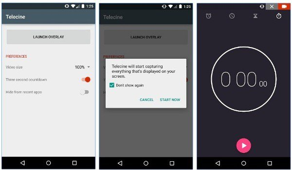 Top 10 Best Android Gameplay Screen Recording Applications - Root And No Root