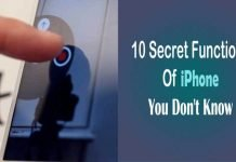 Top 10 Secret Functions Of iPhone You Don't Know