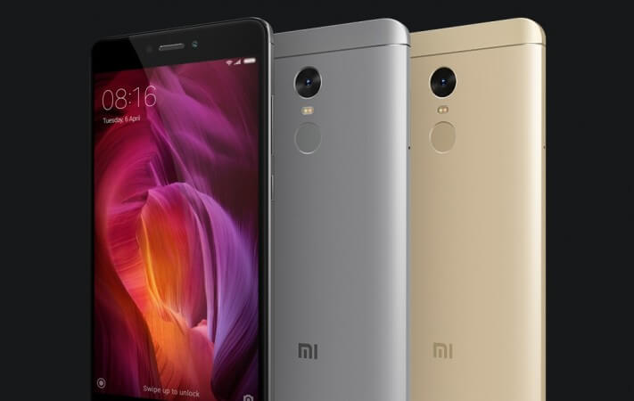Xiaomi Redmi 4X Smartphone Images, Features And Specs