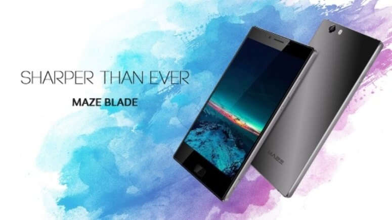 MAZE Blade 4G Phablet Specifications, Features, And Images