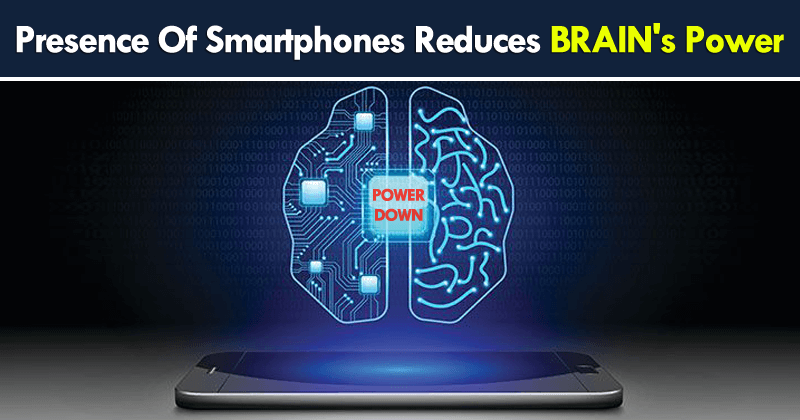 Using Smartphones Results Brain Damages With Low Concentration