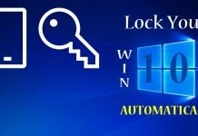 How To Lock Windows 10 Automatically Via Dynamic Lock